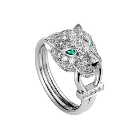 From Cartier With Newsvine Fashion by Cartier Panther Ring Verkoopjehorloge