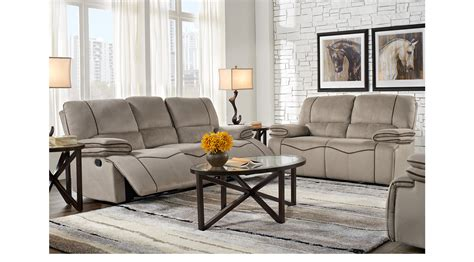 1 155 00 Alberta Trails Gray 7 Pc Living Room Classic Gray Living Room Furniture Sets