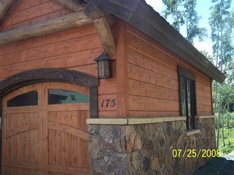 Log Siding Action Log Homes