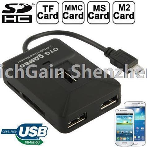 55 In 1 Card Reader Did You There Were That Many by Buy 3 In 1 Micro Usb Otg Adapter Sd Sdhc Mmc Rs Mmc Tf