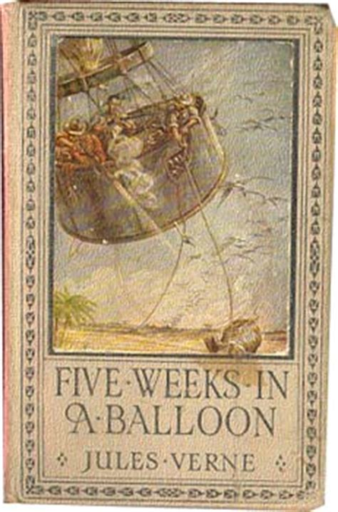 jules verne book five weeks in a balloon cinq semaines
