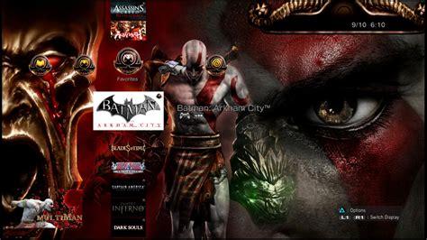 theme psp god of war даунгрейд на всички сони плейстейшън 3 с официална версия