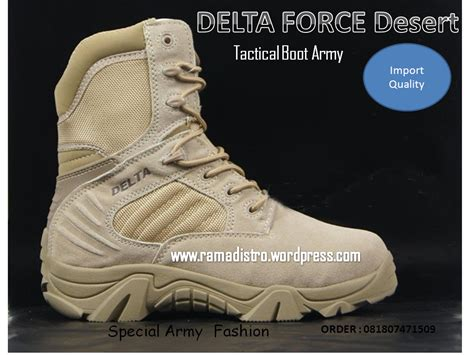 Sepatu Tentara Delta 301 moved permanently