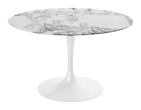 Saarinen Dining Table Arabescato Marble hivemodern.com