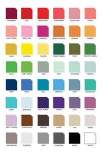 colors of the color list katlem design