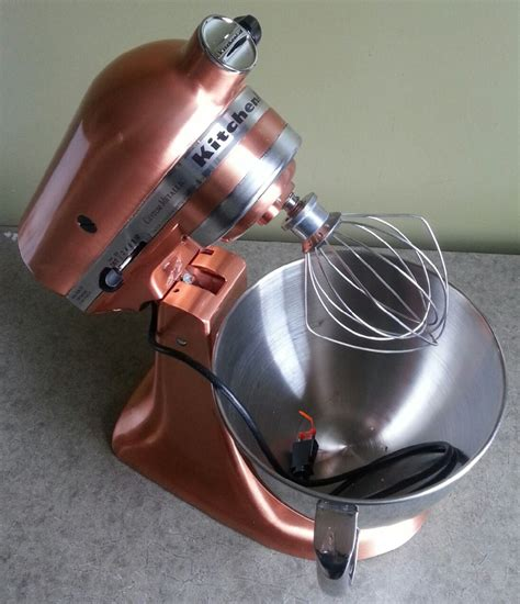 Satin Copper Kitchenaid Mixer by Kitchenaid Mixer 325 Watt Ksm152pscp Satin Copper Tilt Up