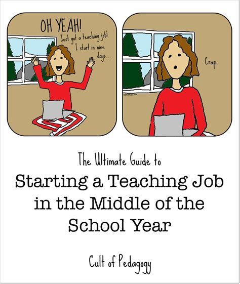 what to put in the middle of your kitchen table the ultimate guide to starting a teaching job mid year cult of pedagogy