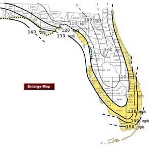 florida wind map hvhz high volosity hurricane zone west palm