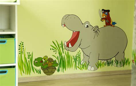 kinderzimmer wandgestaltung farbe kinderzimmer wand streichen ideen