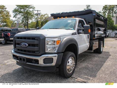 2013 ford f550 duty xl regular cab 4x4 dump truck in