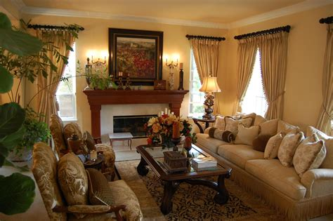 traditional living room designs french country