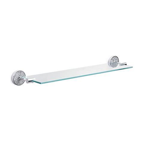 Glass Shelf Fittings by Silver Mosaic Glass Shelf Home Treats Uk