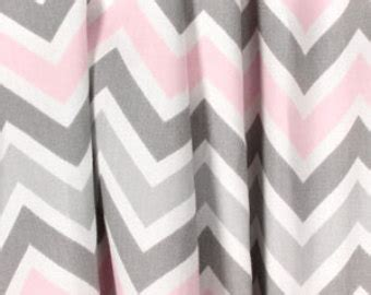 pink and gray chevron curtains gray curtains etsy