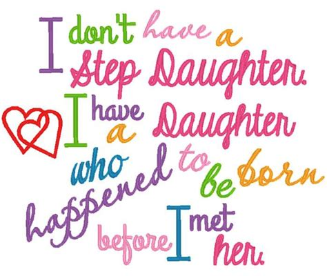 Happy Birthday Step Quotes Step Daughter Saying By Nnkidsembroidery On Etsy