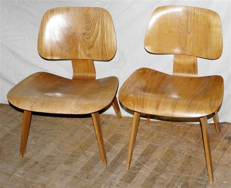 potato chip chair 021244 eames laminated plywood potato chip chairs lot