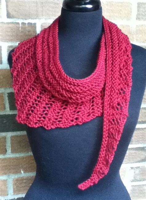 knitting pattern for gallatin scarf easy scarf knitting patterns in the loop knitting