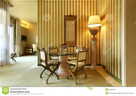 Comfortable Dining Room by Comfortable Dining Room Royalty Free Stock Image Image