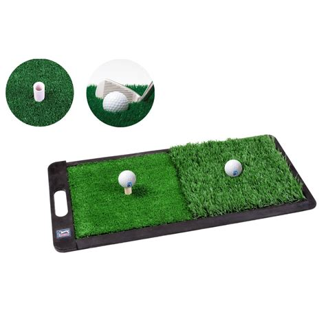 Golf Mat by Pga Tour 2 In 1 Dual Turf Golf Practice Mat
