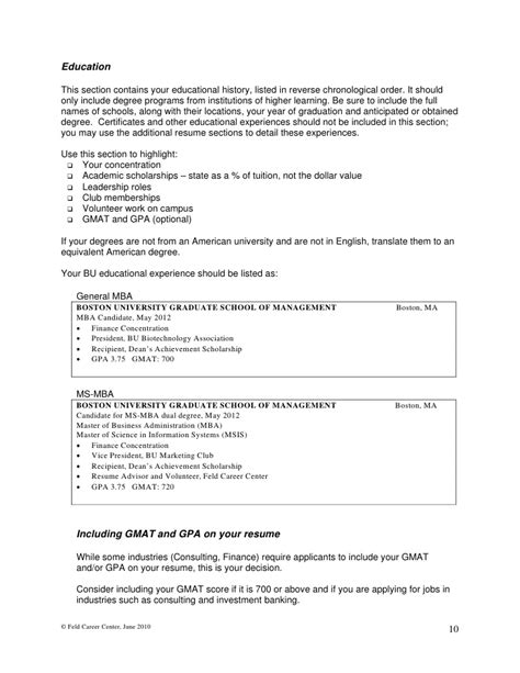 How To Display Mba On Resume by Additional Coursework On Resume Display Udgereport183