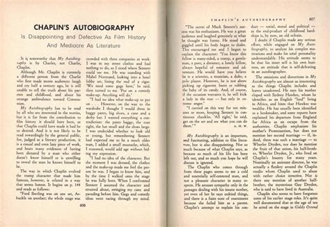 my biography charlie chaplin book review quot my autobiography quot by charles chaplin