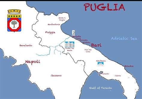Bari Italy Birth Records Map Of Puglia Pictures To Pin On Pinsdaddy