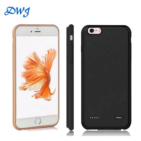 Casing Cover Slim Silicon Iphone 5 6 6 7 7 Soft Soft Silikon 2016 slim silicone material for apple iphone 6 6s plus battery 3700mah backup charger