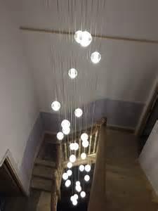 stairwell pendant lights air stairwell chandelier
