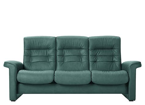 green reclining sofa stressless sapphire leather reclining sofa paloma aqua