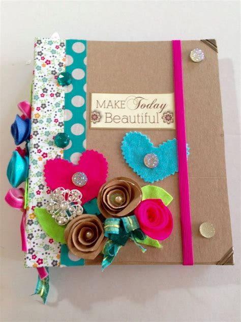 Handmade Diaries - 17 best ideas about handmade diary on book