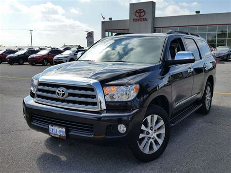 Toyota Of Ontario 2016 Toyota Sequoia Limited Lindsay Ontario Used Car