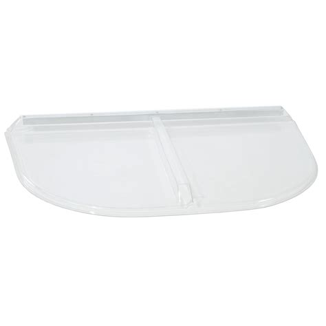plastic window covers shop shape products plastic window well cover at lowes