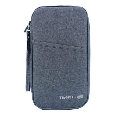 brand travel journey document organizer wallet passport id card holder ticket credit card bag