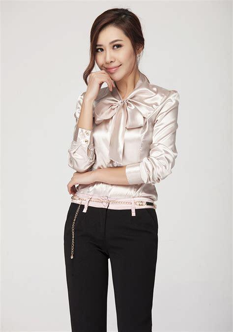 Blouse Big Size Gliter Bintang 4 Jual Satin Blouse Korean Style Big Size Satin Silk