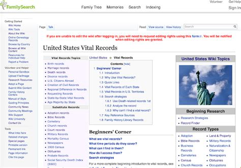 Family Search Birth Records Genealogy S Jumpstart Your Family History In Ten