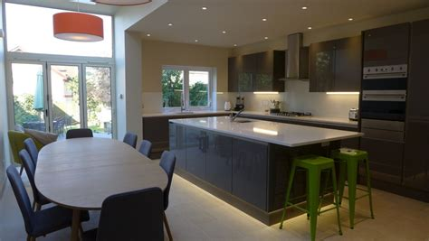 Open Plan Flooring kitchens style within