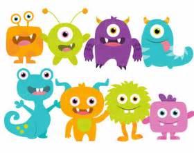 little cute monsters pesquisa google pinteres