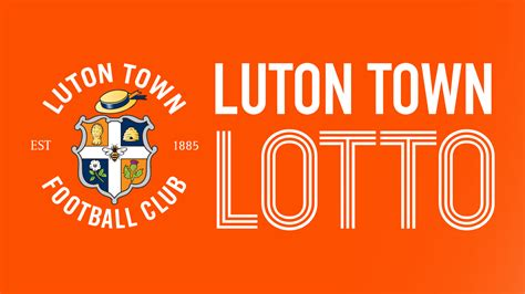 luton town lotto launches  support  academy news luton town