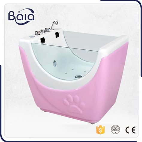 dog bathtubs for home use gg 1303 acrylic pet spa bath tub