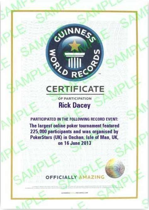 guinness world record certificate template get your own guinness world record certificate