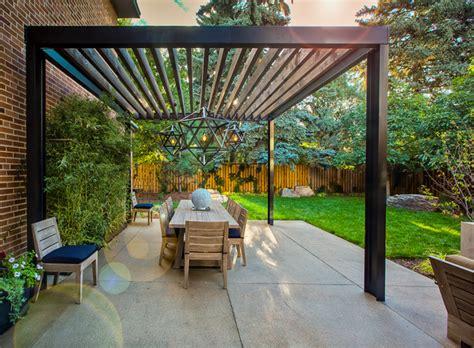 Wonderful Mid Century Modern Pergola   Garden Landscape