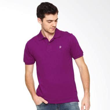 Tshirt Kaos Baju Xiaomi jual osella solid shirt kaos polo pria purple