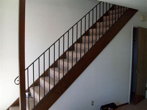 metal banister rail railings 187 v m iron works inc in the san jose bay area