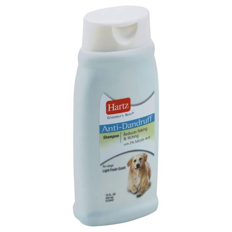 Hartz Groomer S Best Whitener Shoo For Dogs 532 Ml 979256 hartz groomer s best anti dandruff shoo pet