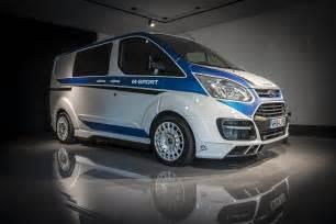 sport ford transit custom 2015