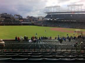 wrigley field section 202 row 7 seat 9 chicago cubs vs