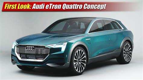 first audi quattro first look audi etron quattro concept testdriven tv