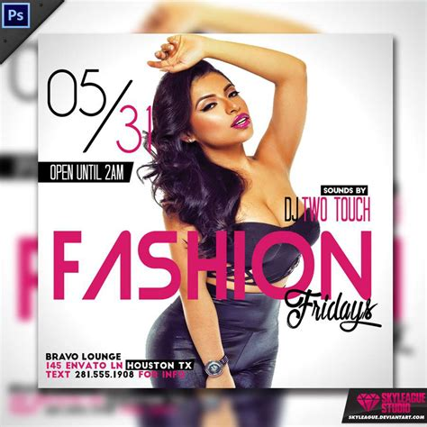 Fashion Fridays Square Instagram Flyer Template Psd On Behance Instagram Flyer Template