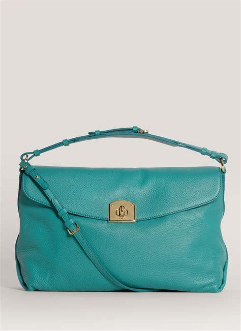 Shoulder Bag Turquoise sergio medium leather shoulder bag in blue turquoise lyst