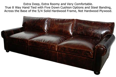 sorensen leather sofa review restoration hardware lancaster sofa look alike sofa