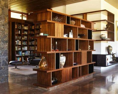 Foyer Design Ideas regale als raumteiler trennwand regal arbeitsecke